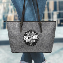 Load image into Gallery viewer, OH Mechanic Small Leather Tote Bag