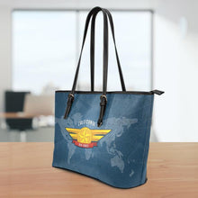 Load image into Gallery viewer, AF-CA Small Leather Tote Bag
