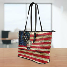 Load image into Gallery viewer, Texas Strong Small Leather Tote Bag