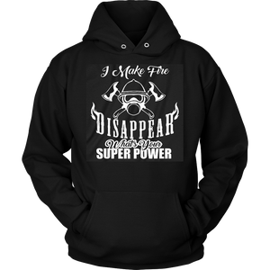 Fire Fighter Super Power Hoodie