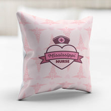 Load image into Gallery viewer, MS Nurse Pink Pillowcase