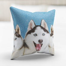 Load image into Gallery viewer, Huskies Pillowcase