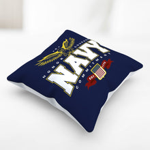 Load image into Gallery viewer, Navy Pillowcase
