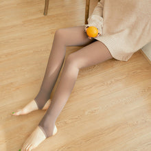Load image into Gallery viewer, Attention Ladies : Winter Warm Fleece Lined Pantyhose All Natural Look ! One Size Fits Most