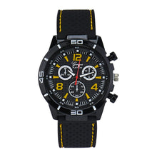 Load image into Gallery viewer, Men Military Watches Sport Wristwatch Silicone Fashion Hours Quartz Watch