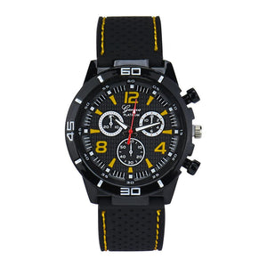 Men Military Watches Sport Wristwatch Silicone Fashion Hours Quartz Watch