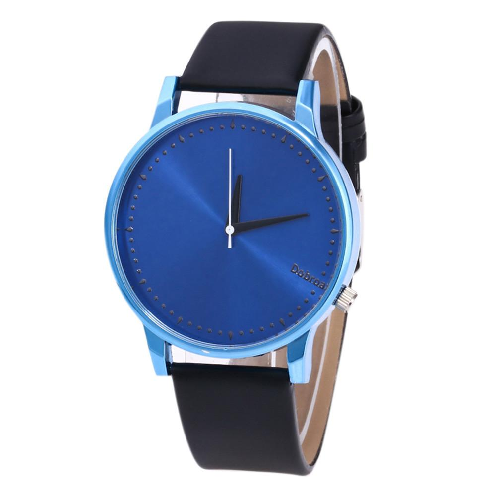 Fashion Lover's Casual Luxury Watch Leather Band Quartz Wristsiness Watch