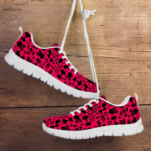 Cats Pink Running Shoes