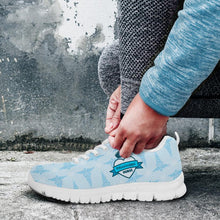 Load image into Gallery viewer, MS Nurse Blue Running Shoes