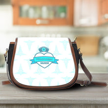 Load image into Gallery viewer, MS Nurse Blue Saddle Bag