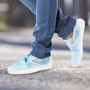MS Nurse Blue Slip Ons