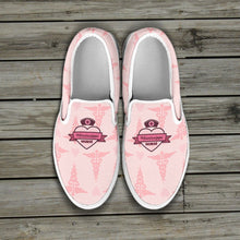 Load image into Gallery viewer, MS Nurse Pink Slip Ons