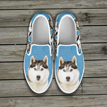 Load image into Gallery viewer, Huskies Slip Ons