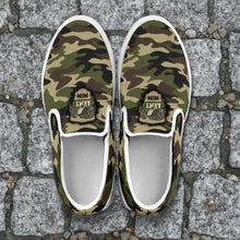 Load image into Gallery viewer, Camouflage Slip Ons