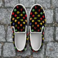 Load image into Gallery viewer, Bitmap Fruit Slip Ons
