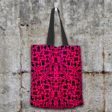 Load image into Gallery viewer, Cats Pink Tote Bag