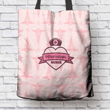 Load image into Gallery viewer, MS Nurse Pink Tote Bag