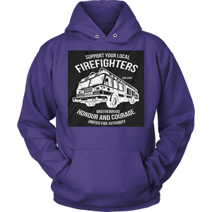 Fire Fighter Local Hoodie