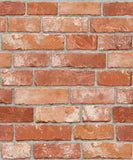Vintage Brick Pattern Contact Paper Self-adhesive Peel-stick Prepasted Wallpaper (HSV632)