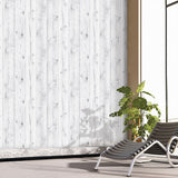 Vintage White Wood Panel Pattern Contact Paper Self-Adhesive Peel-stick Wallpaper