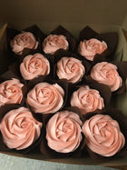 Cupcakes Gluten Free with icing (6) - available in store only - on demand