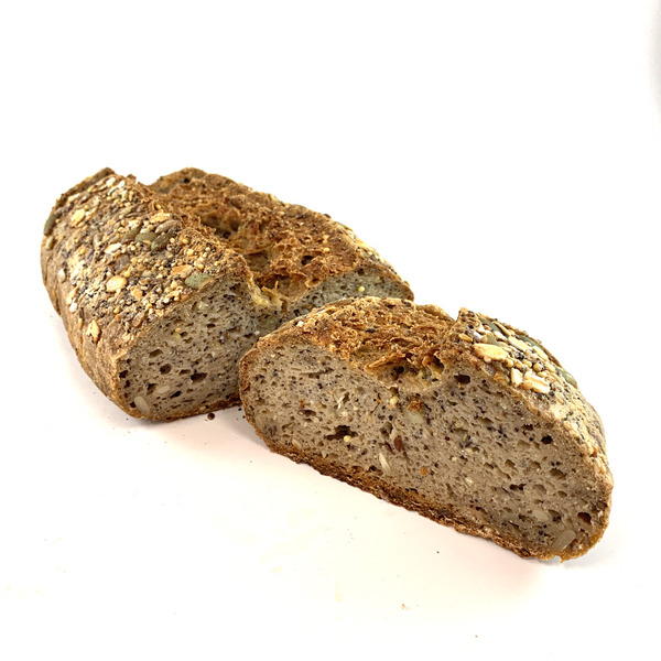 Multigrain Free Form Sourdough Bread