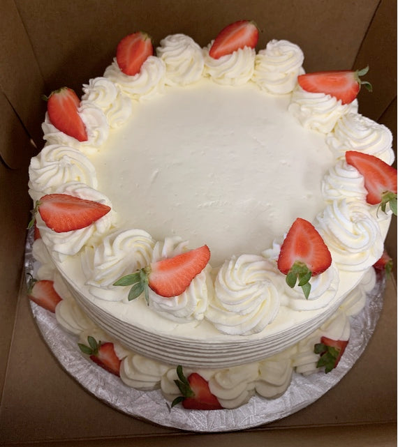 Strawberry Shortcake - Available in store only - on order 48 hours in advance