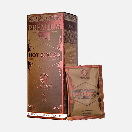 Organic Gourmet Hot Chocolate from Organo