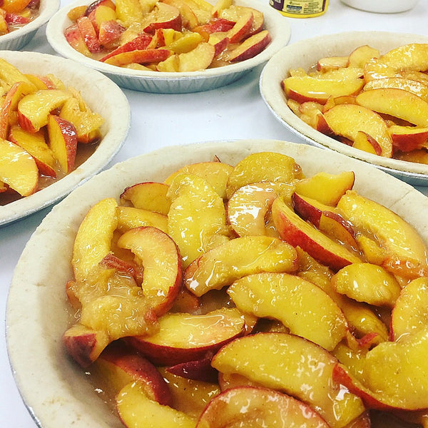 "Ontario Peach Pie Large 10"" - available in season in store only"