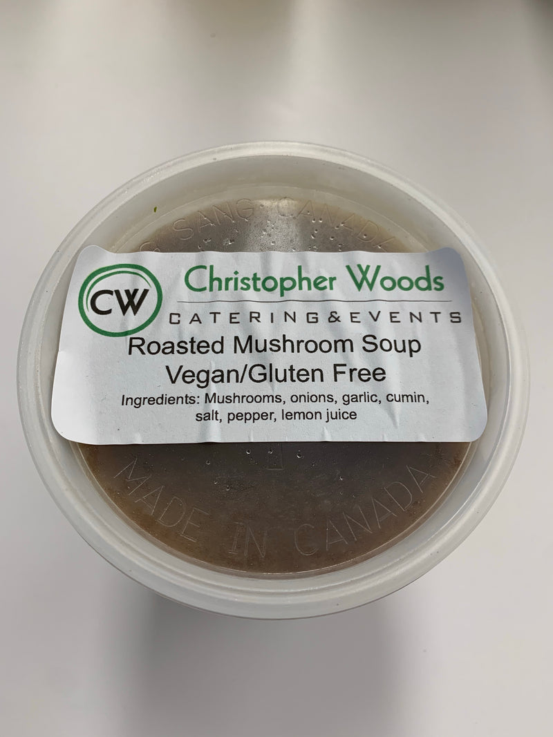 Roasted Mushroom Soup 700g - available in store only - on demand only