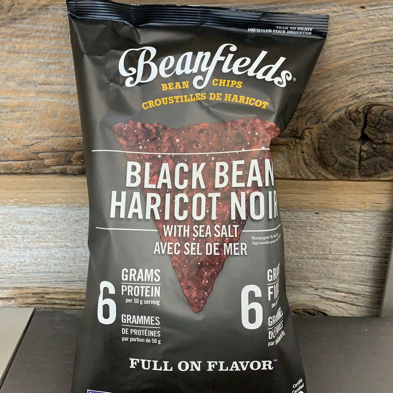 Black Bean Sea Salt Chips