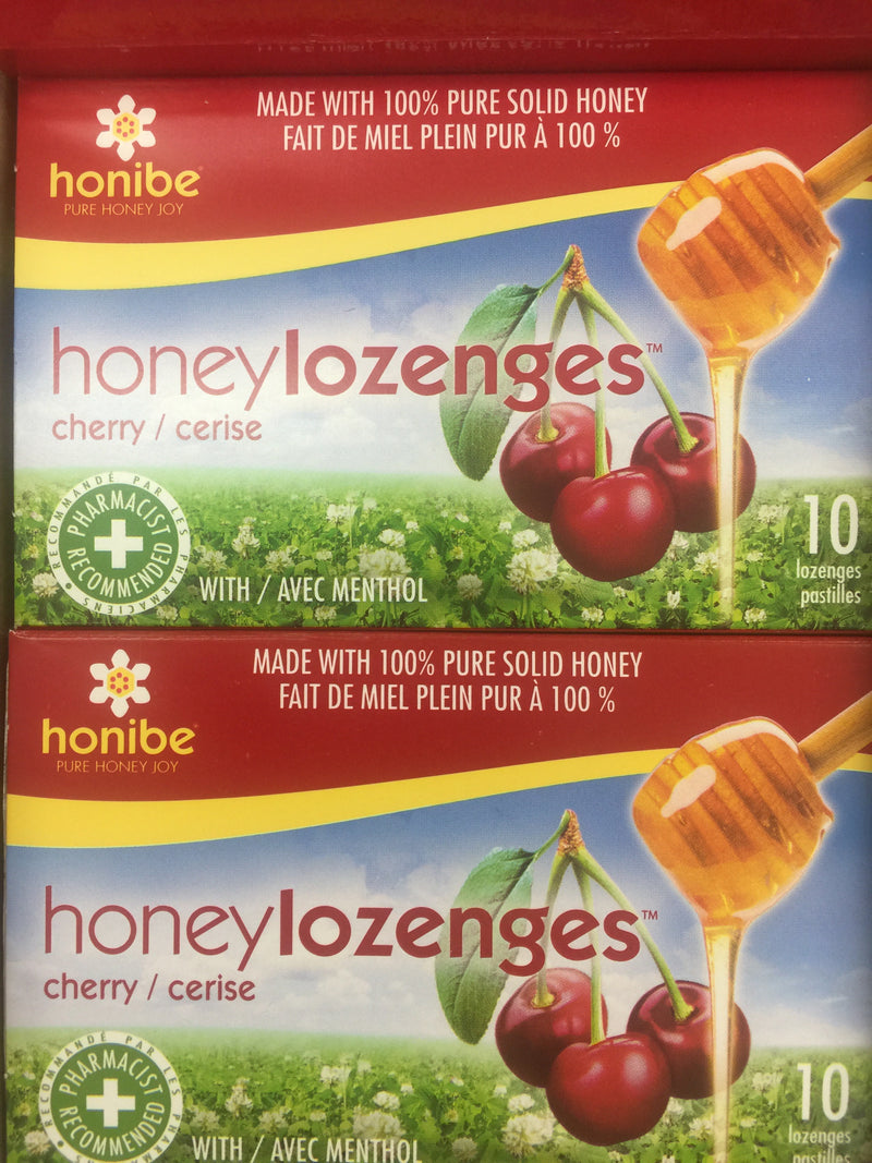 Honey Lozenges Cherry with Menthol