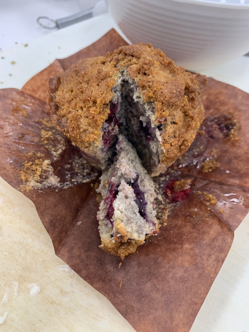 Very Berry Muffins gluten free