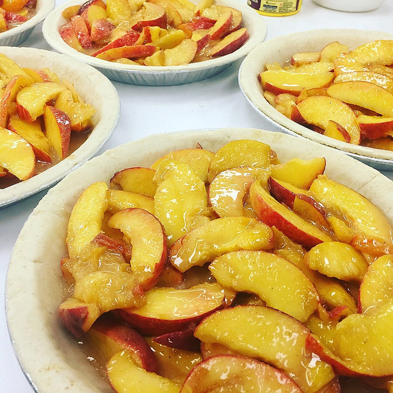 Ontario Peach Pie (small) - available in season in store only