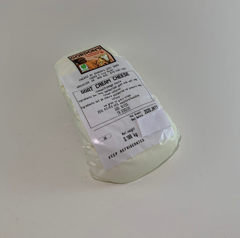 Goat Cream Cheese (price per gr) - available in store only