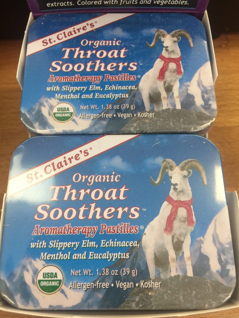 Organic Throat Soothers