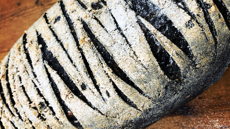 Activated Charcoal Sourdough Bread