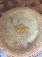 Lactose Free Raspberry pie (Small) - available in store only