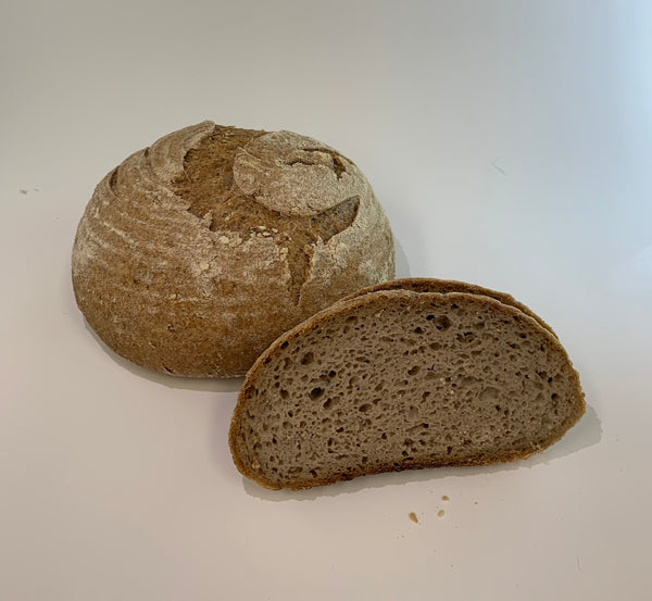 Free Form Sourdough whole grain bread