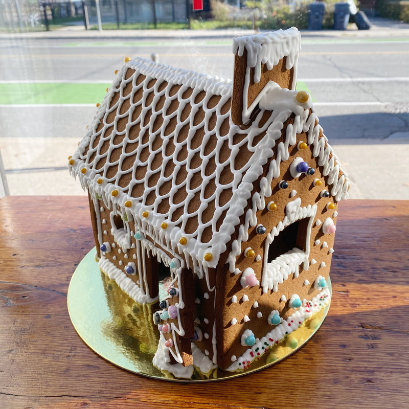 Gingerbread House Pre-Made (pre-order)