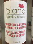 Maple & raspberry flavour dressing