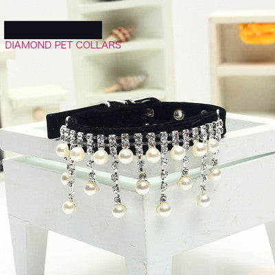 Diamond Pet Collar
