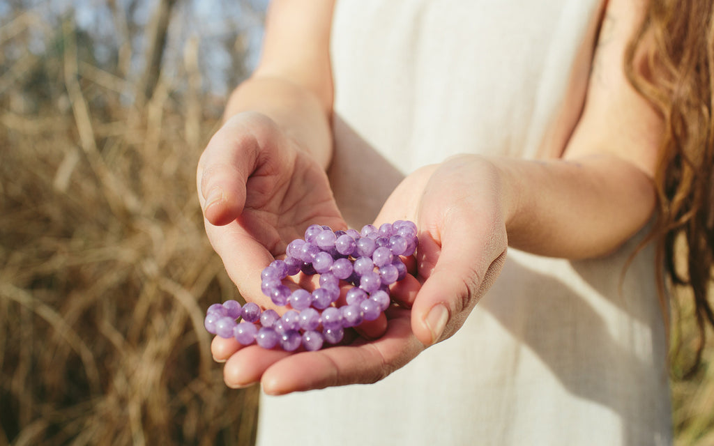 Gemstone Basics - Lavender for Alignment