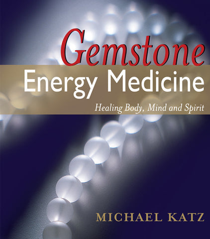 Gemstone energy medicine book - front cover.