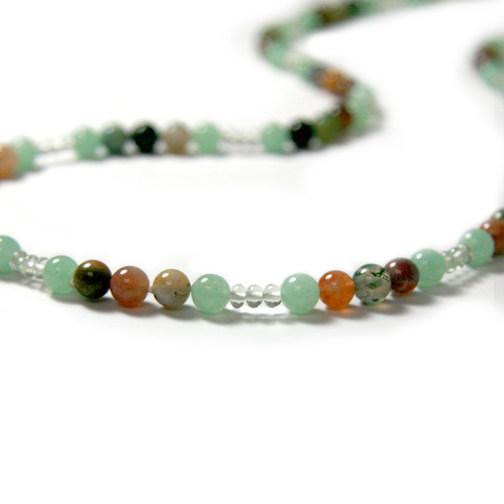 Earth Aqua - return to nature | Natural healing, aquamarine, agate, light green aventurine