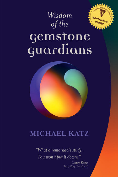 Wisdom of the Gemstone Guardians book - front cover.