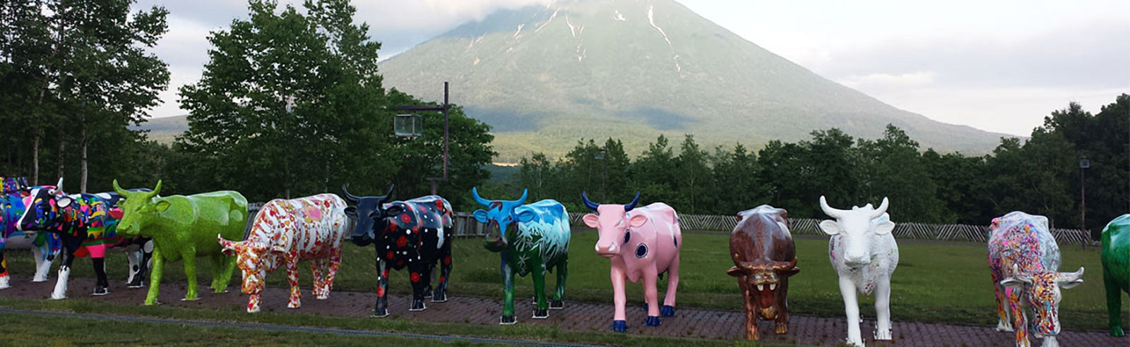 Cow Parade Niseko MAMIMU Manhole Cow