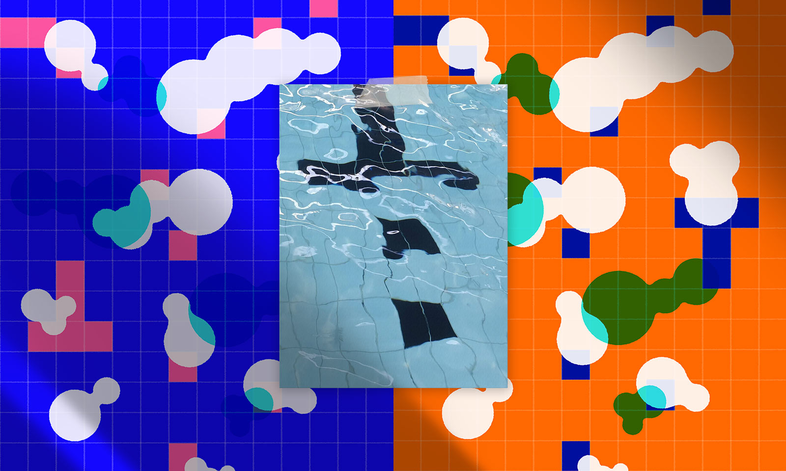 MAMIMU Hackney Swimming Pool Pattern & Inspiration