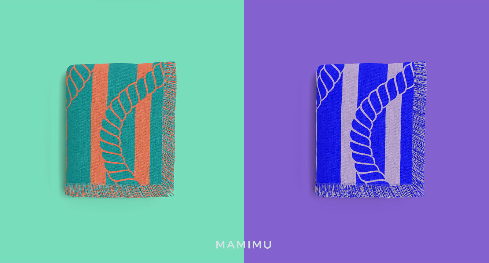 MAMIMU Cotton Throw Blankets