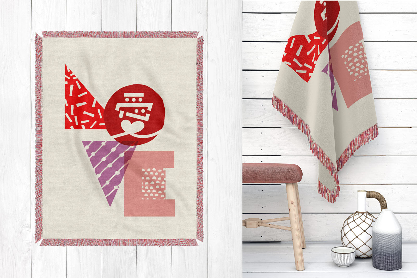 MAMIMU Tokyo Love Throw Blanket on Fy!